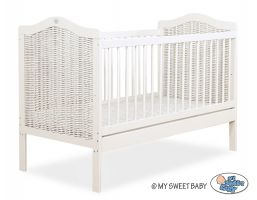 Wicker Baby cot- Junior bed
