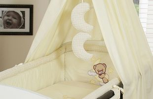 Bedding set 5-pcs with canopy (L)