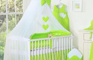 Bedding set 7-pcs with mosquitonet