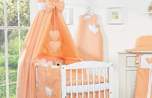 Bedding set 11-pcs with canopy