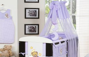 Bedding set 7-pcs with canopy (L)