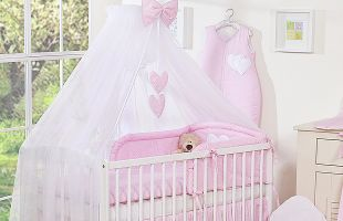 Bedding set 11-pcs with mosquitonet