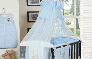 Bedding set 7-pcs with Mosquito-net (L)