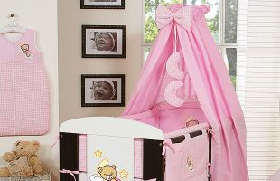 Bedding set 11-pcs with canopy (L)
