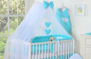 Bedding set 5-pcs with mosquitonet
