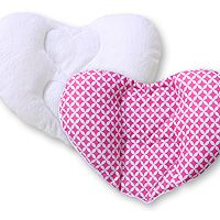 Double-sided car seat pillow hearts