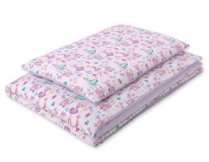 Bedding set 2pcs 100x135 Mini -  ballerinas lilac