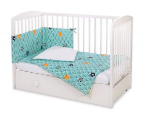 Bedding set 3-pcs -  mint forest