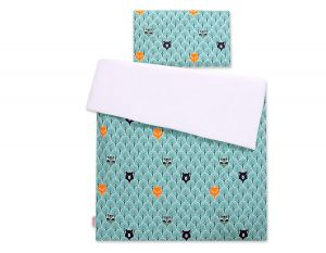 Bedding set 2-pcs -  mint forest