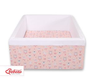 Ball-pit minky without balls - ballerinas pink