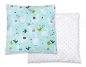 Doublesided Pillow - lama mint
