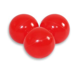 Plastic balls for the dry pool 50pcs - red