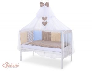 Bedding set 11-pcs with mosquito-net- Set 1