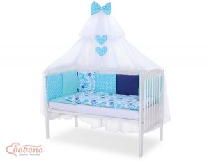 Bedding set 11-pcs with mosquito-net- Set 11