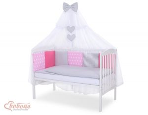 Bedding set 11-pcs with mosquito-net- Set 2