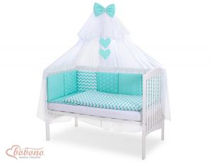 Bedding set 11-pcs with mosquito-net- Set 21