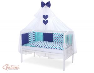 Bedding set 11-pcs with mosquito-net- Set 23