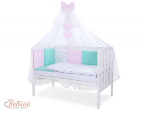Bedding set 11-pcs with mosquito-net- Set 35