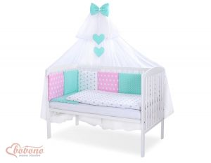Bedding set 11-pcs with mosquito-net- Set 36