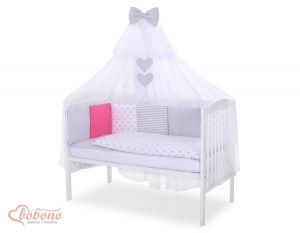 Bedding set 11-pcs with mosquito-net- Set 4
