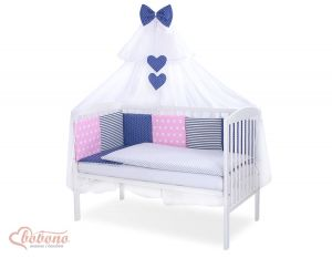Bedding set 11-pcs with mosquito-net- Set 45