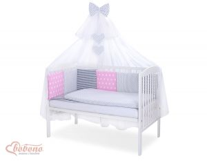Bedding set 11-pcs with mosquito-net- Set 46