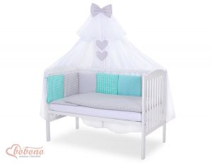 Bedding set 11-pcs with mosquito-net- Set 5