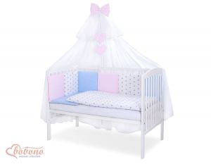 Bedding set 11-pcs with mosquito-net- Set 51