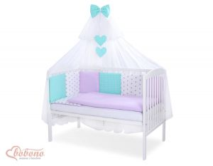 Bedding set 11-pcs with mosquito-net- Set 55