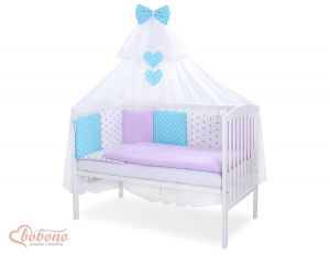 Bedding set 11-pcs with mosquito-net- Set 58