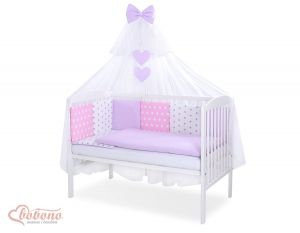 Bedding set 11-pcs with mosquito-net- Set 59
