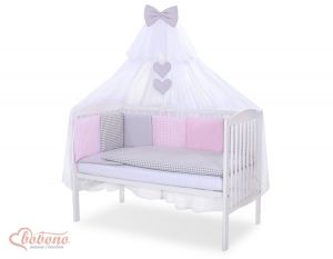 Bedding set 11-pcs with mosquito-net- Set 6