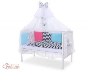 Bedding set 11-pcs with mosquito-net- Set 9