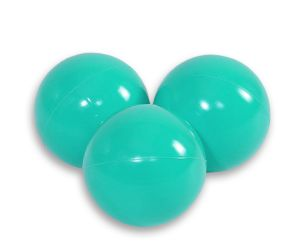 Plastic balls for the dry pool 50pcs -  turquoise