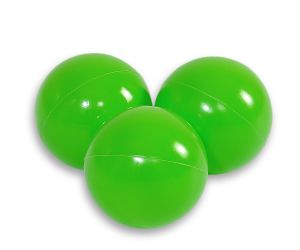 Plastic balls for the dry pool 50pcs - light green