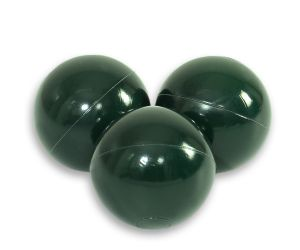 Plastic balls for the dry pool 50pcs -  dark green
