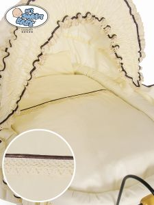 Cover set 4 pcs for Wicker crib Emma no. 2100-026 or 72100-026