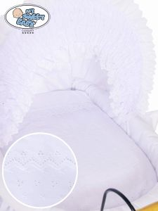 Cover set 4 pcs for Wicker crib Charlotte no. 2100-906 or 72100-906