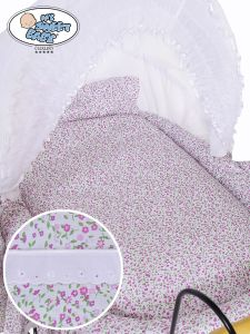 Cover set 4 pcs for Wicker crib Jasmine no. 2100-913 or 72100-913