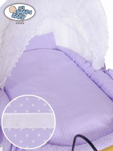 Cover set 4 pcs for Wicker crib Christine no. 2100-915 or 72100-915