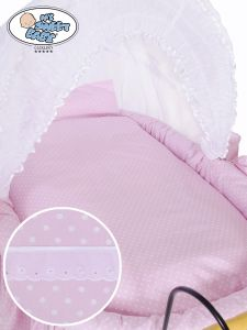 Cover set 4 pcs for Wicker crib Christine no. 2100-917 or 72100-917
