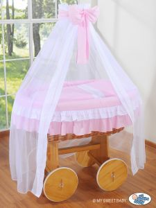 Cover set 4 pcs for Moses Basket/Wicker crib no.  2107-119/72107-119