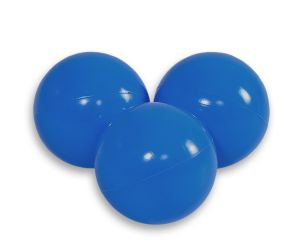 Plastic balls for the dry pool 50pcs - dark blue