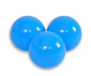 Plastic balls for the dry pool 50pcs -blue