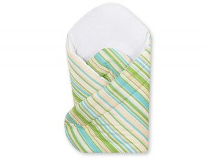 Baby nest with stiffenig- Basic green strips
