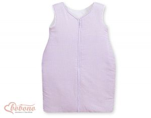 Sleeping bag- Lilac checkered