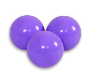 Plastic balls for the dry pool 50pcs - lavender