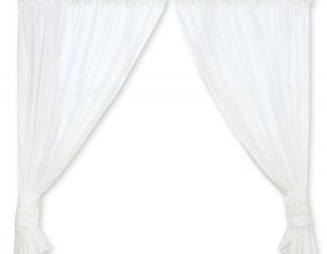 Curtains for baby room- Little Prince/Princess white