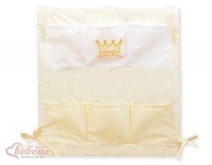 Cot tidy- Little Prince/Princess cream