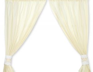 Curtains for baby room- Little Prince/Princess cream
